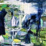 Færøerne-1akryl-på-lærred-100-x100-cm